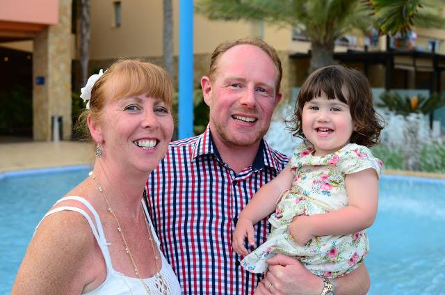 family in fuerteventura