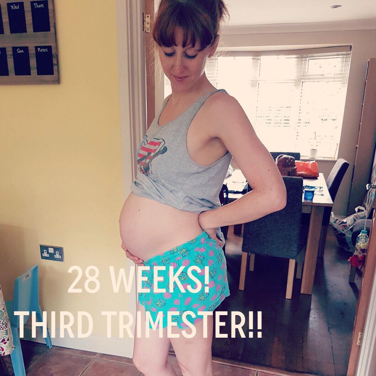 28 Weeks Pregnant – Bump Update!