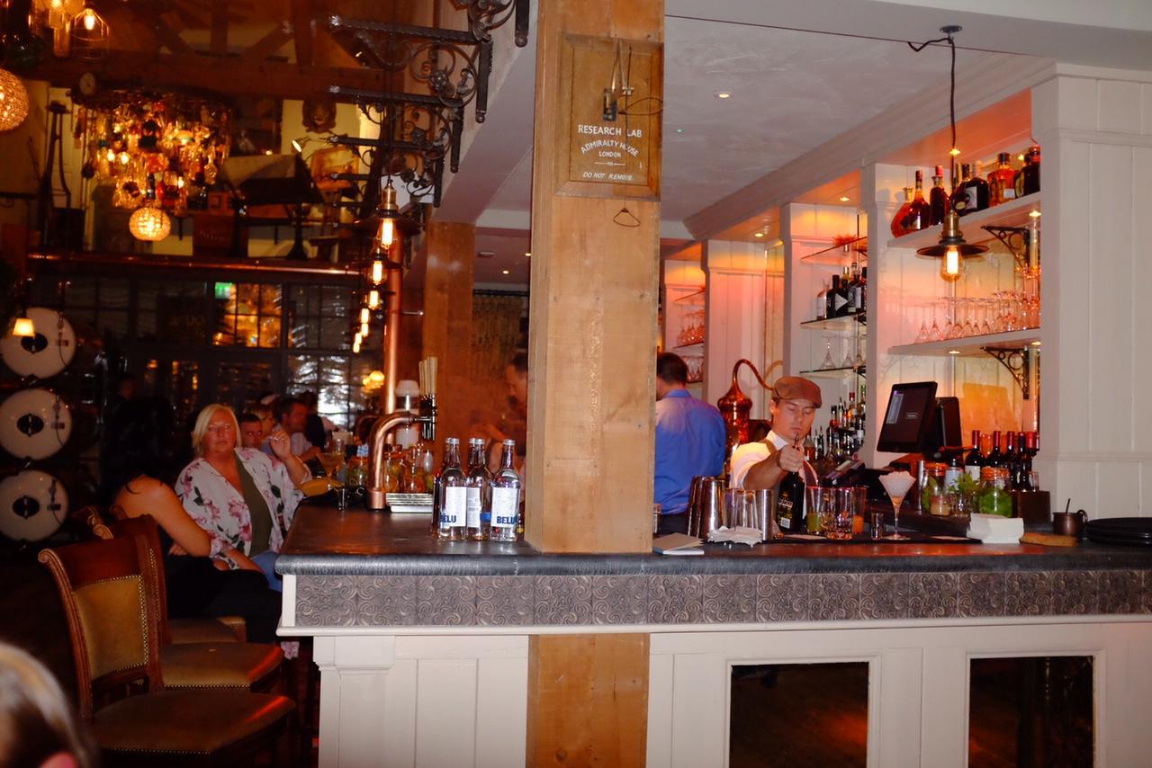 James brindley pub bar