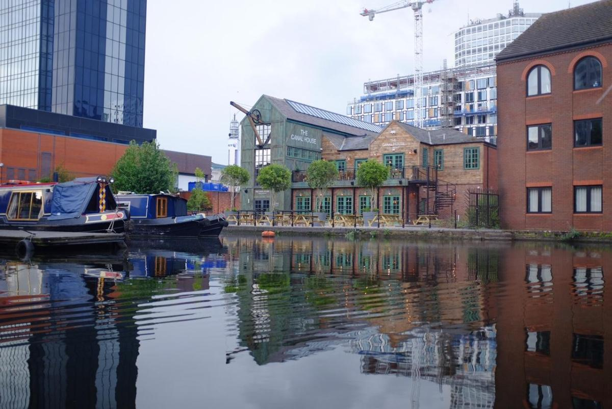 the canal house Birmingham