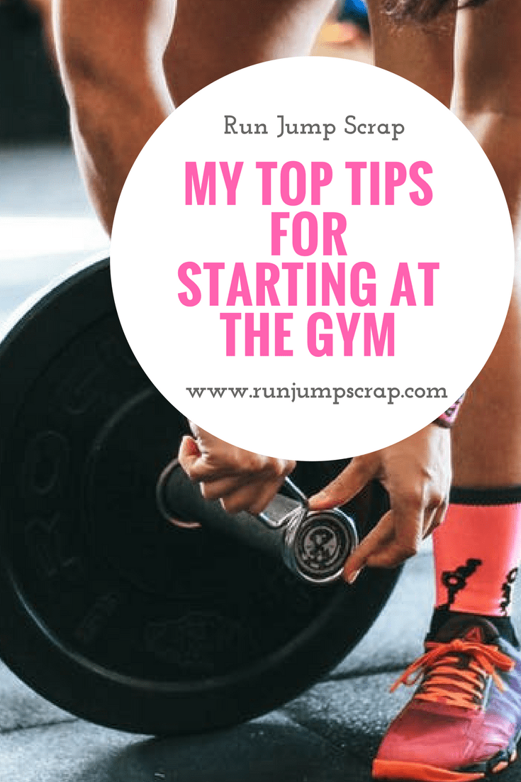 top tips for starting at the gym