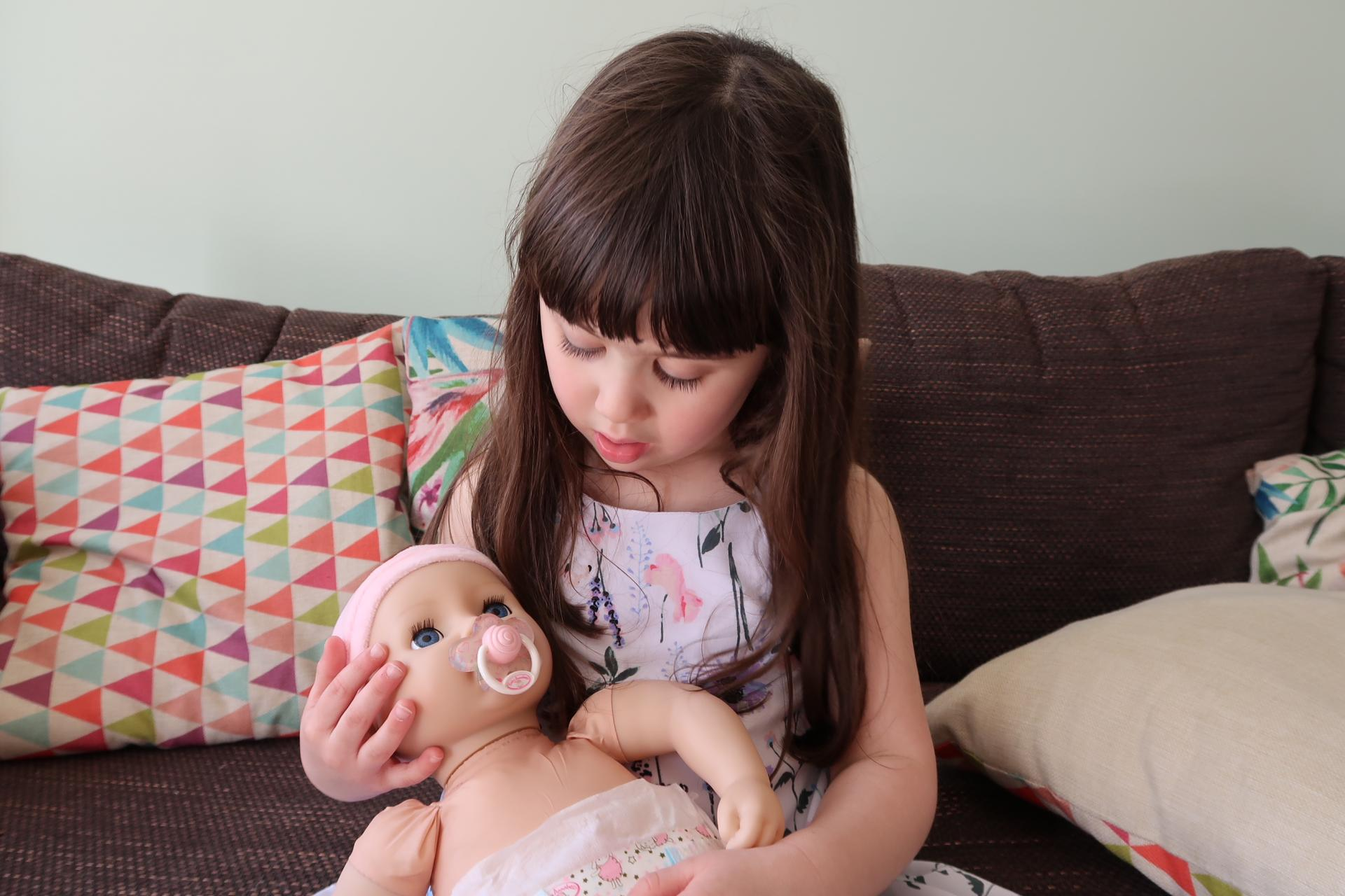Baby Annabell Interactive Doll - Does a Wee and Cries - REVIEW