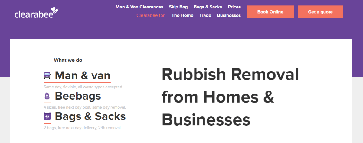 clearabee website
