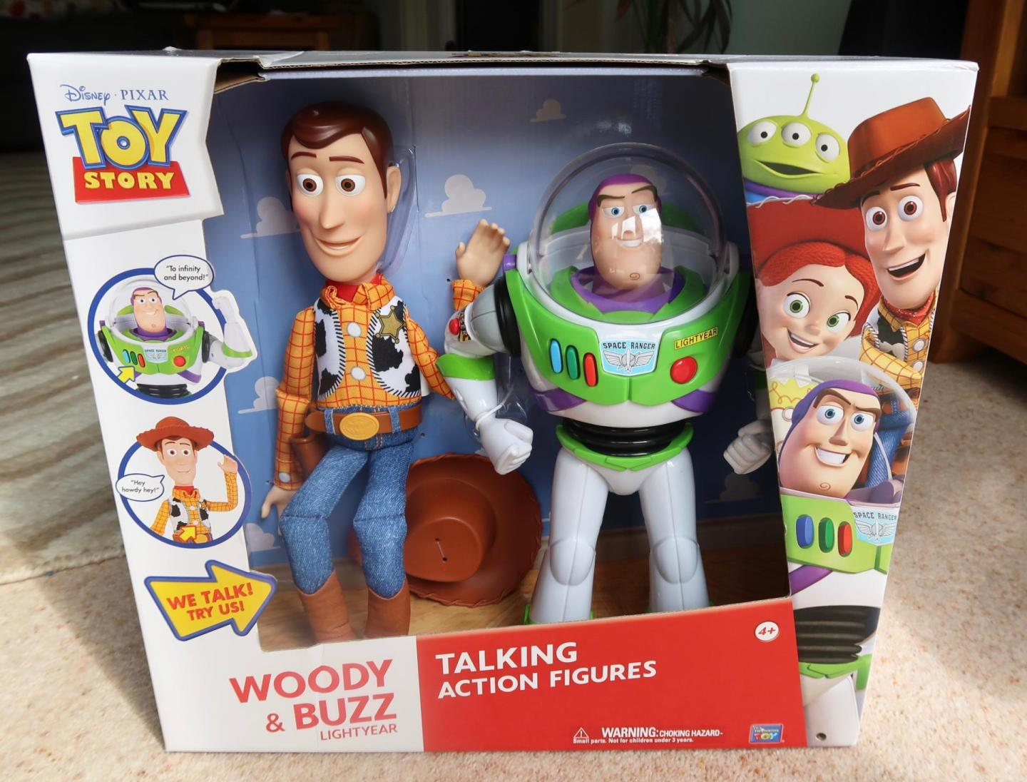 smyths toys buzz and woody