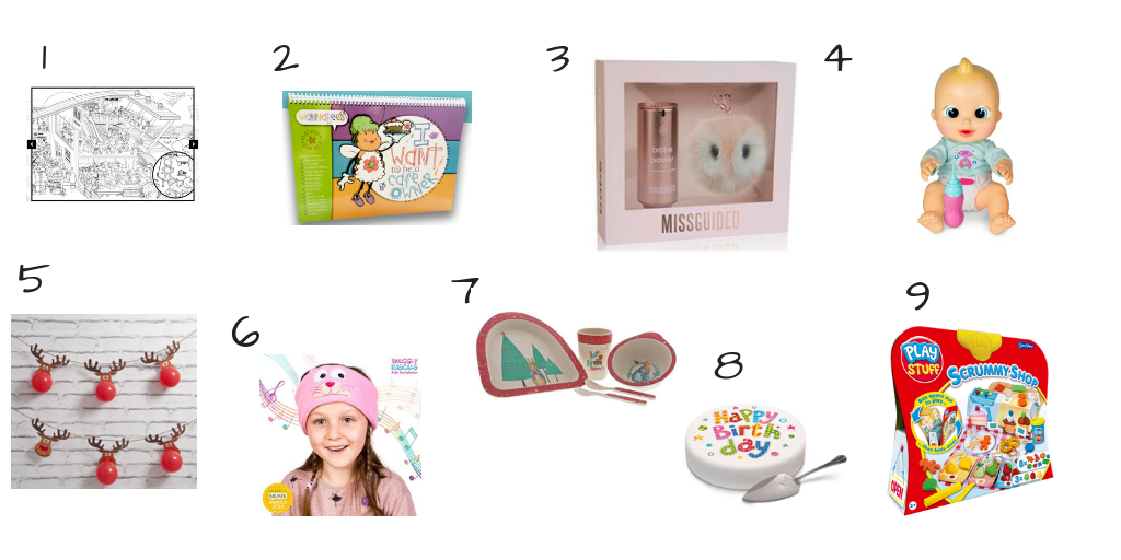 Christmas Gift Guide – Young Girls