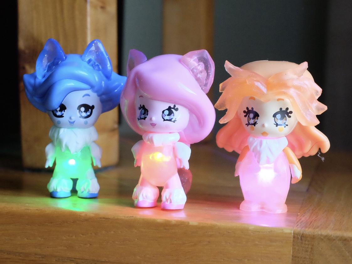 Glimmies Polaris lit up
