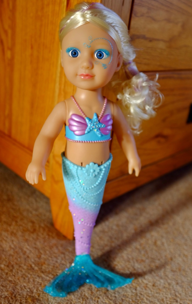 Baby Born Little Sister Mermaid Doll