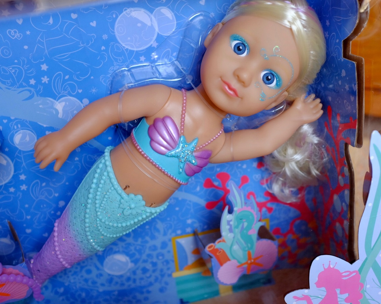 Baby Born Little Sister Mermaid in the box