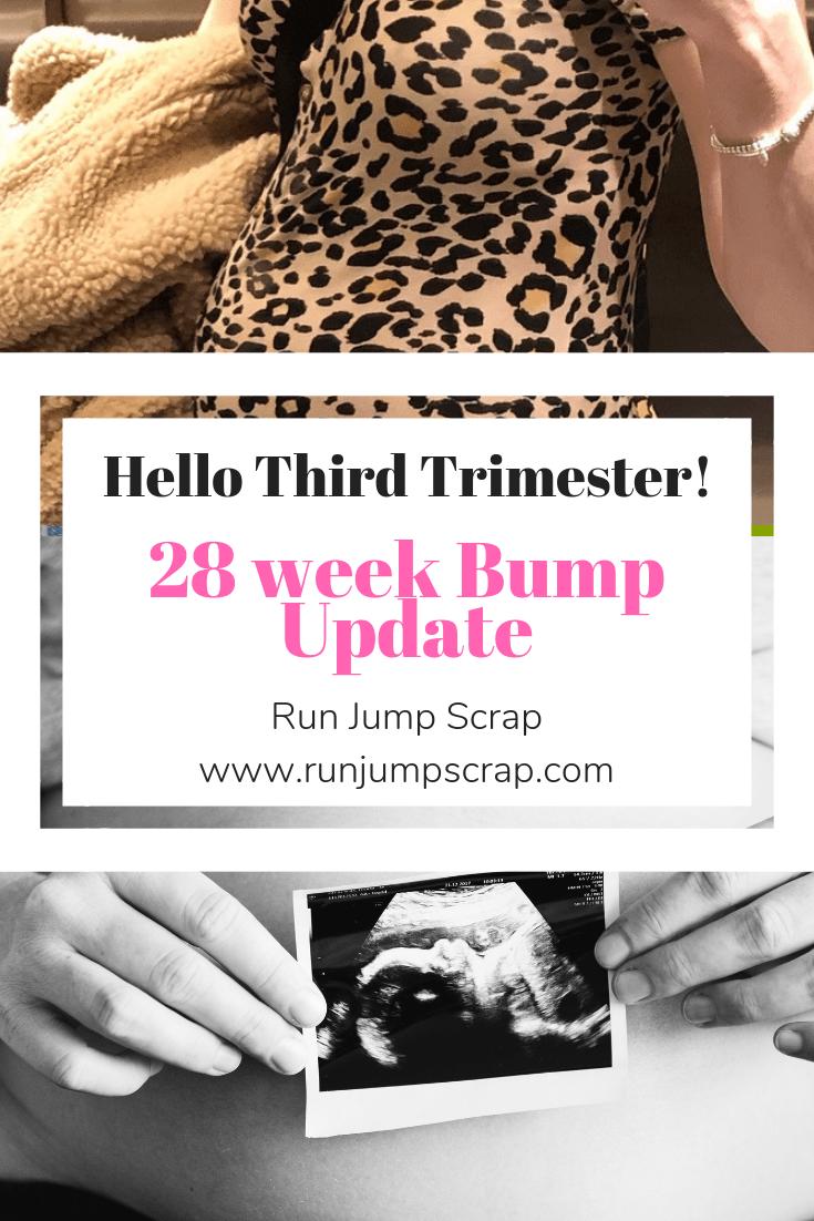 28 weeks pregnant bump update