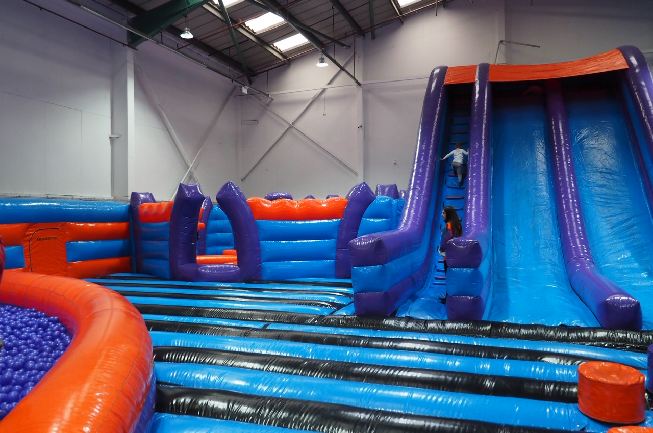 Giant slide Inflatanation Birmingham