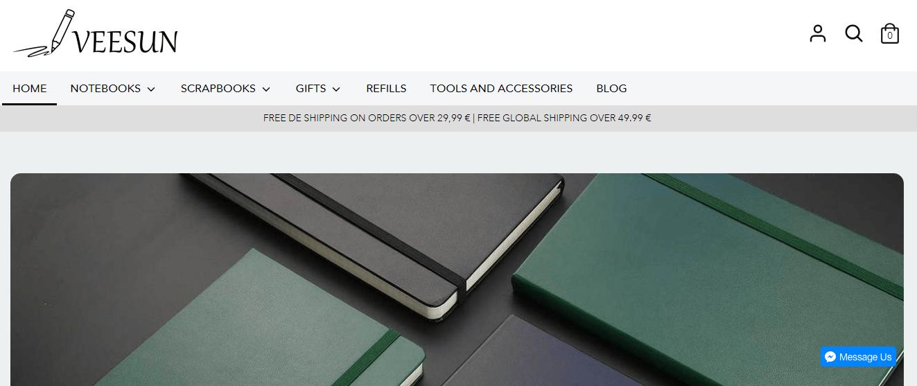 veesun website