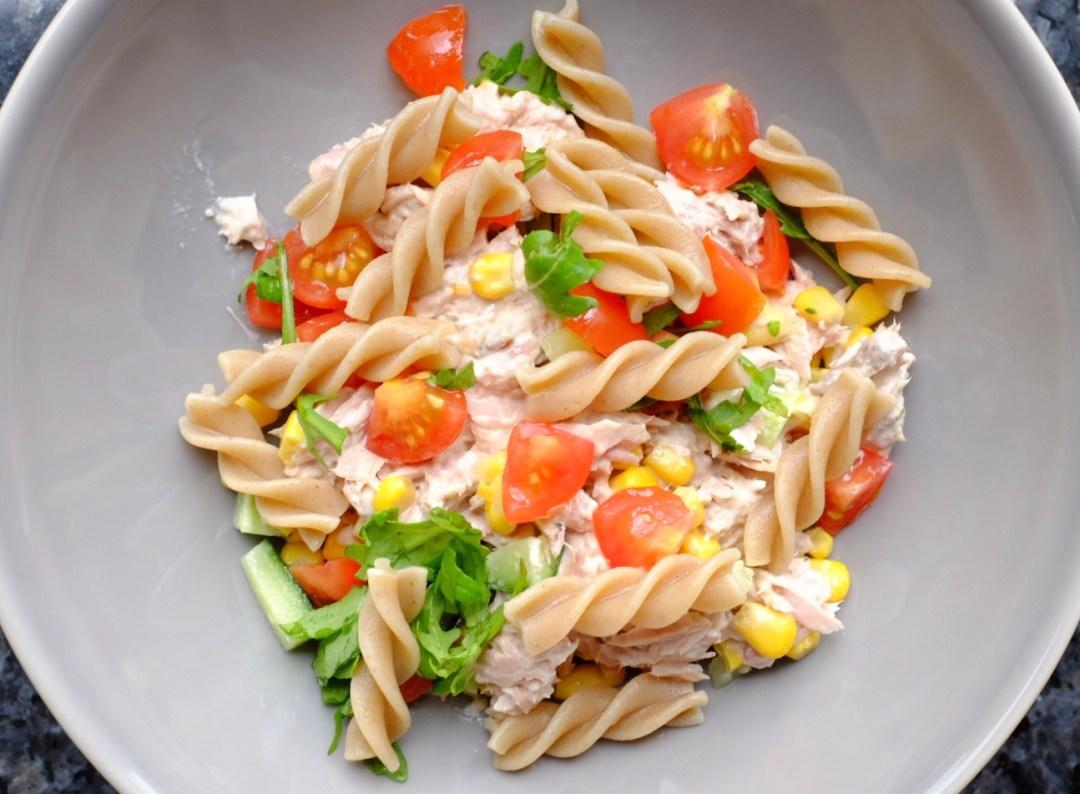 Tuna Pasta Salad Recipe – Simple and Healthy