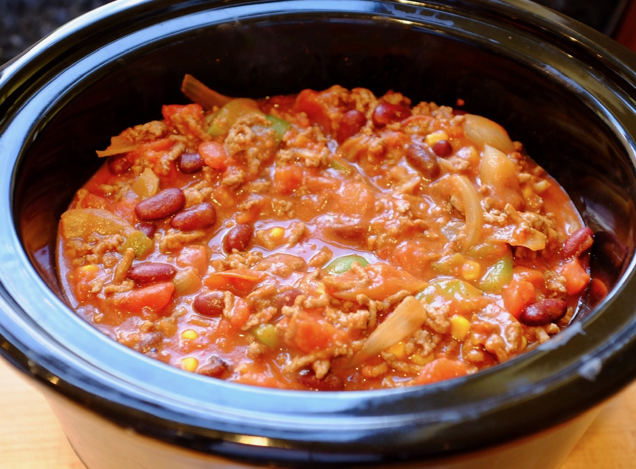 slow cooked chilli