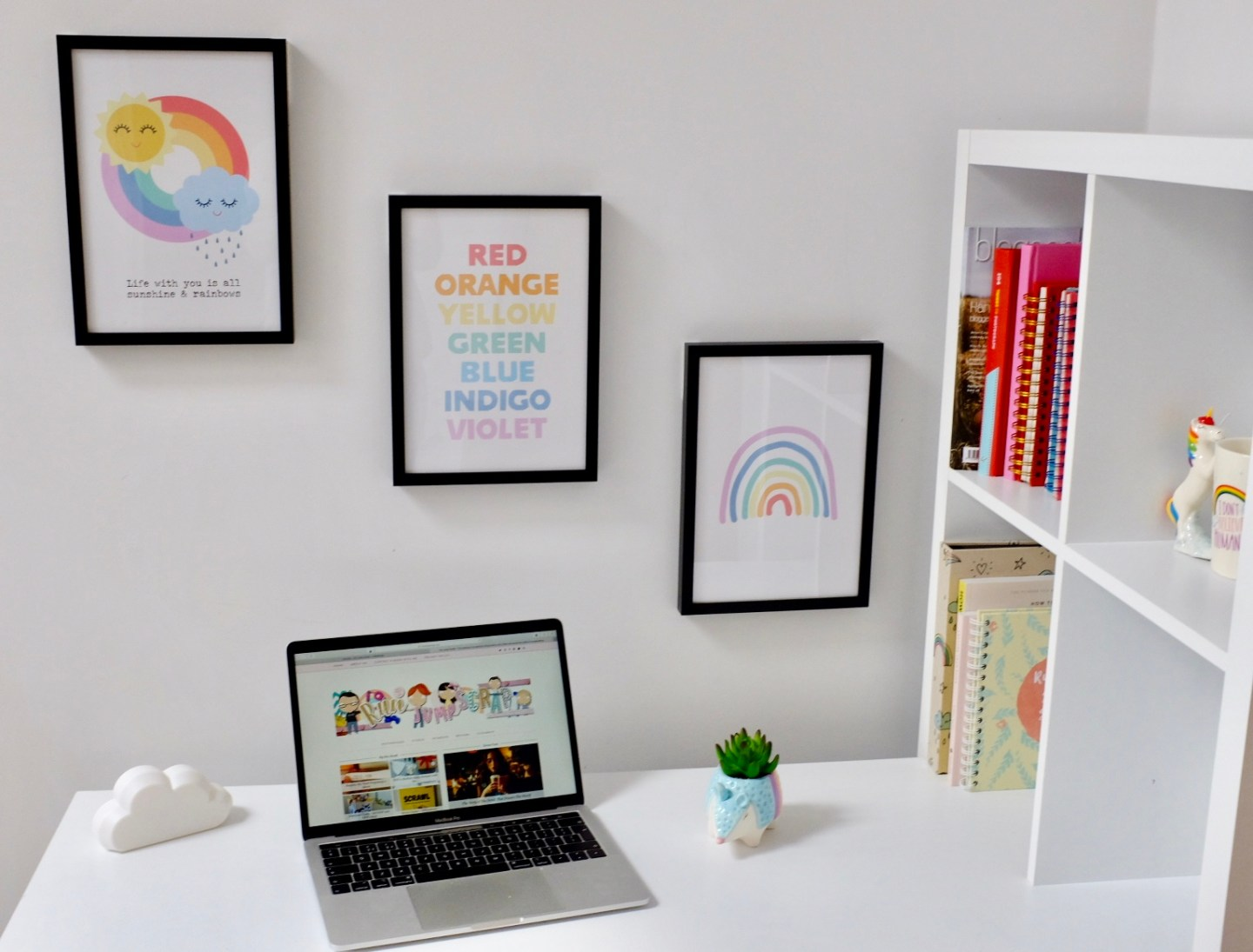 Desenio Prints – REVIEW – Finishing My Workspace