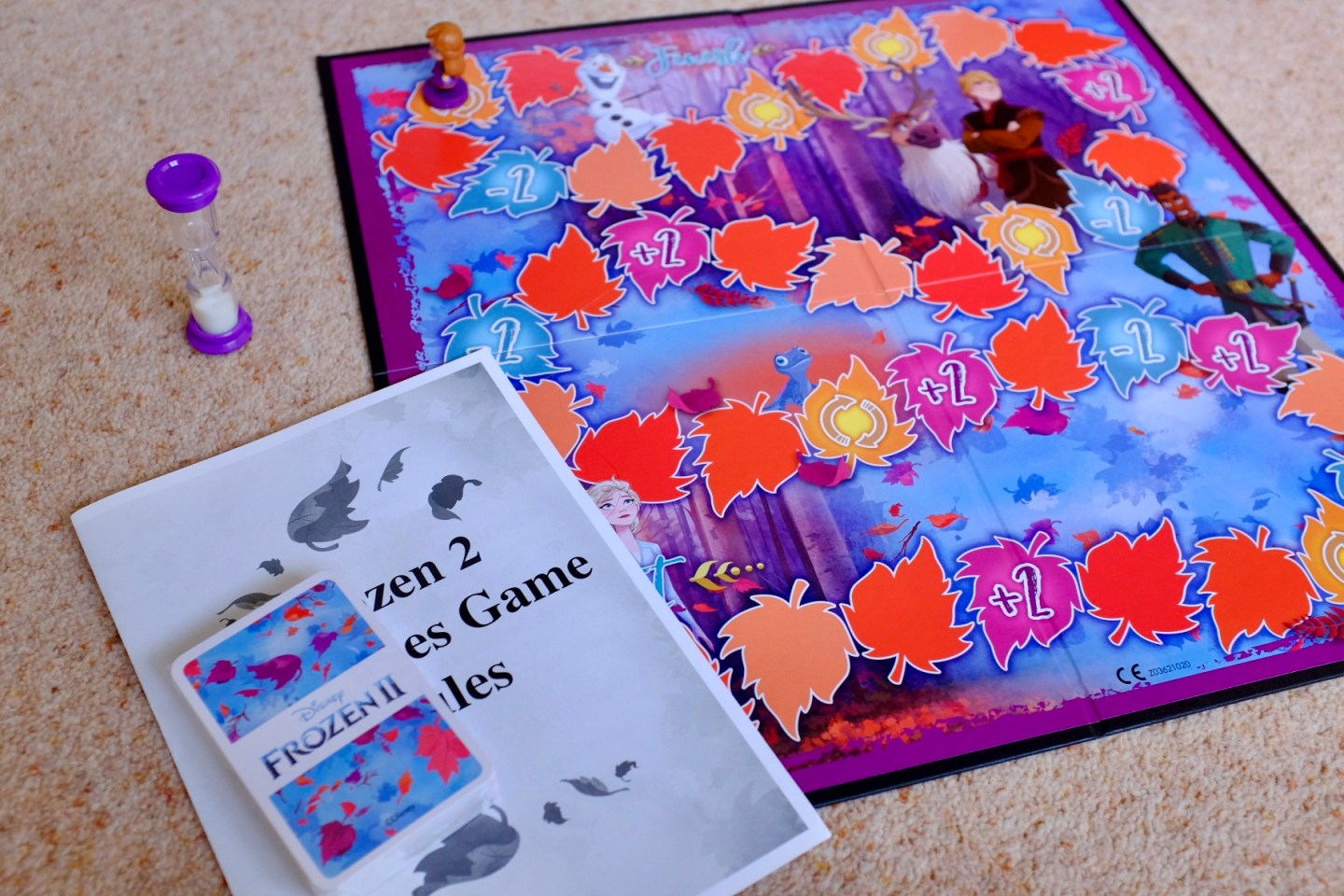 Frozen 2 Games Charades and Shuffle Fun – REVIEW and GIVEAWAY | AD