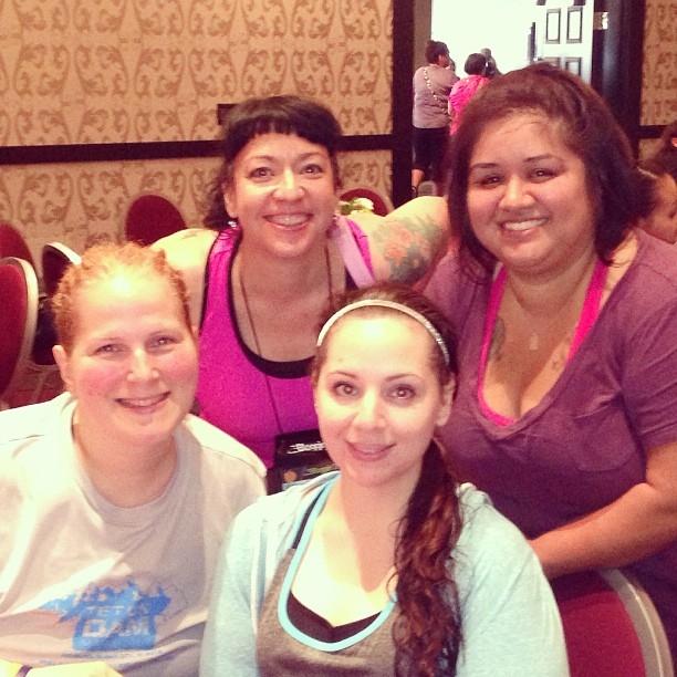 Monica, Danielle, Me, Paola