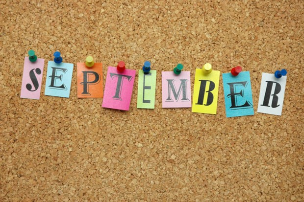 YAY!  My Favourite Month!