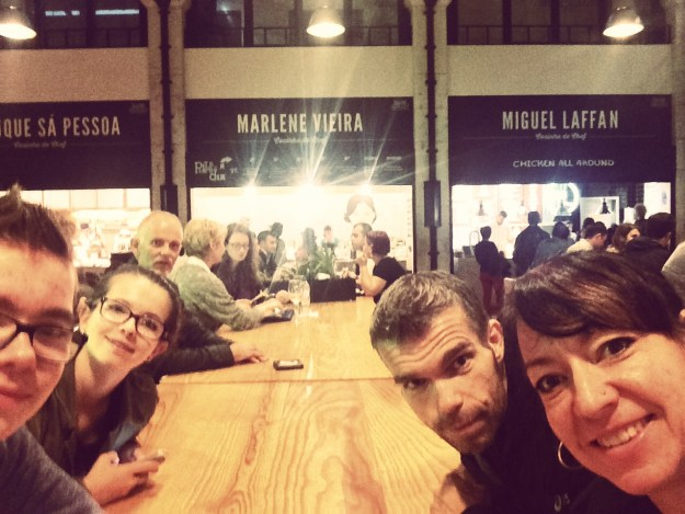 Four Little Fonzies Take Over Lisbon