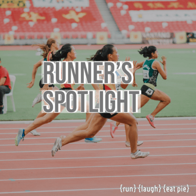 Runner's Spotlight:  Introducing Christine