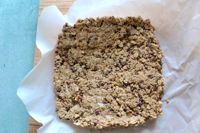 Chewy Chocolat Chip Granola Bars