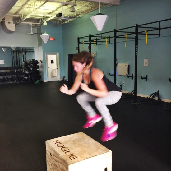 Box Jumps at 6 months pregnant