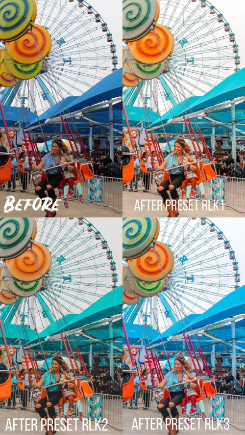 Lightroom App Photo Preset Package - Run Like Kale