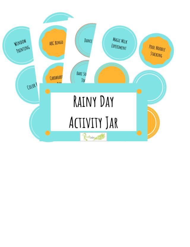 rainy day activity jar