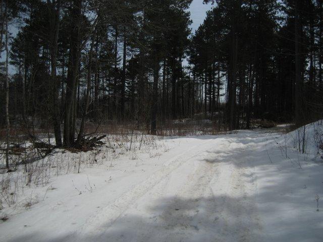 Thunder Lake Trail Snow