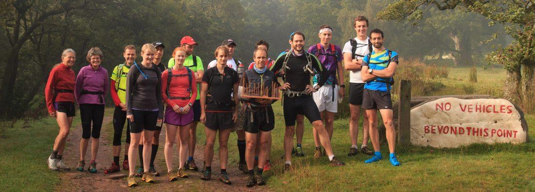 Mdc fell running club Wales training Transfan run