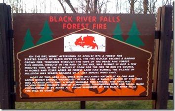 Black River Falls Fire