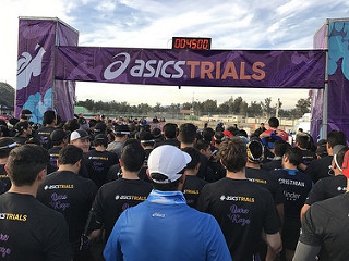 asics trials 6K los dinamos trail