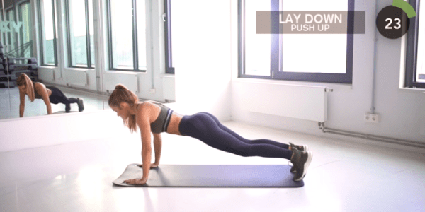entrena en casa workout video pamela reif