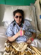 Briana Fernandez - high school student - Brain Cancer