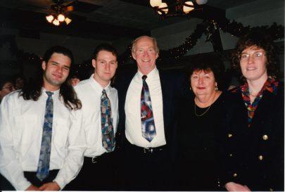 The McCrudden- Matthew, Owen, Joe, Margaret, & Patti