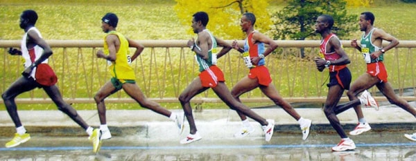 Image result for professional runner stride