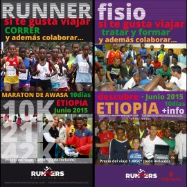 Flyer Runners for Ethiopia 2015