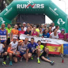 Un viaje solidario a Etiopía de atletas y fisioterapeutas
