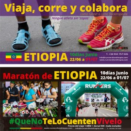 Flyer Runners for Ethiopia 2016 – descargable