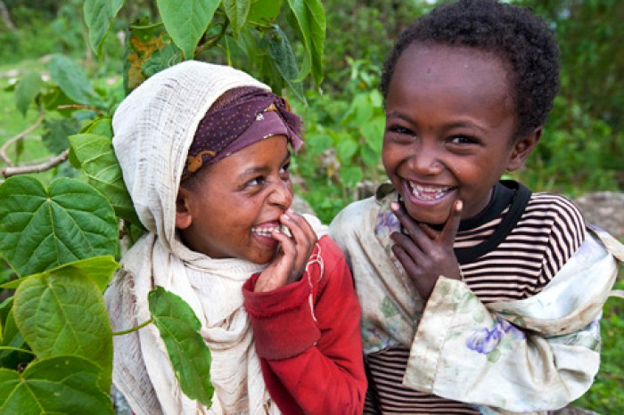 Tribus Etiopía dorze kids