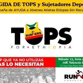 Campaña de recogida de TOPS y Sujetadores Deportivos