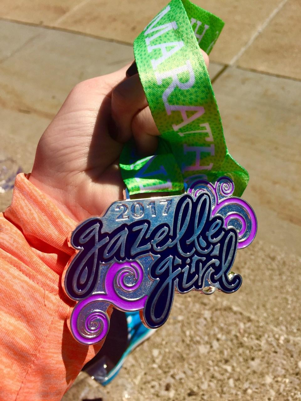 Gazelle Girl Half Marathon