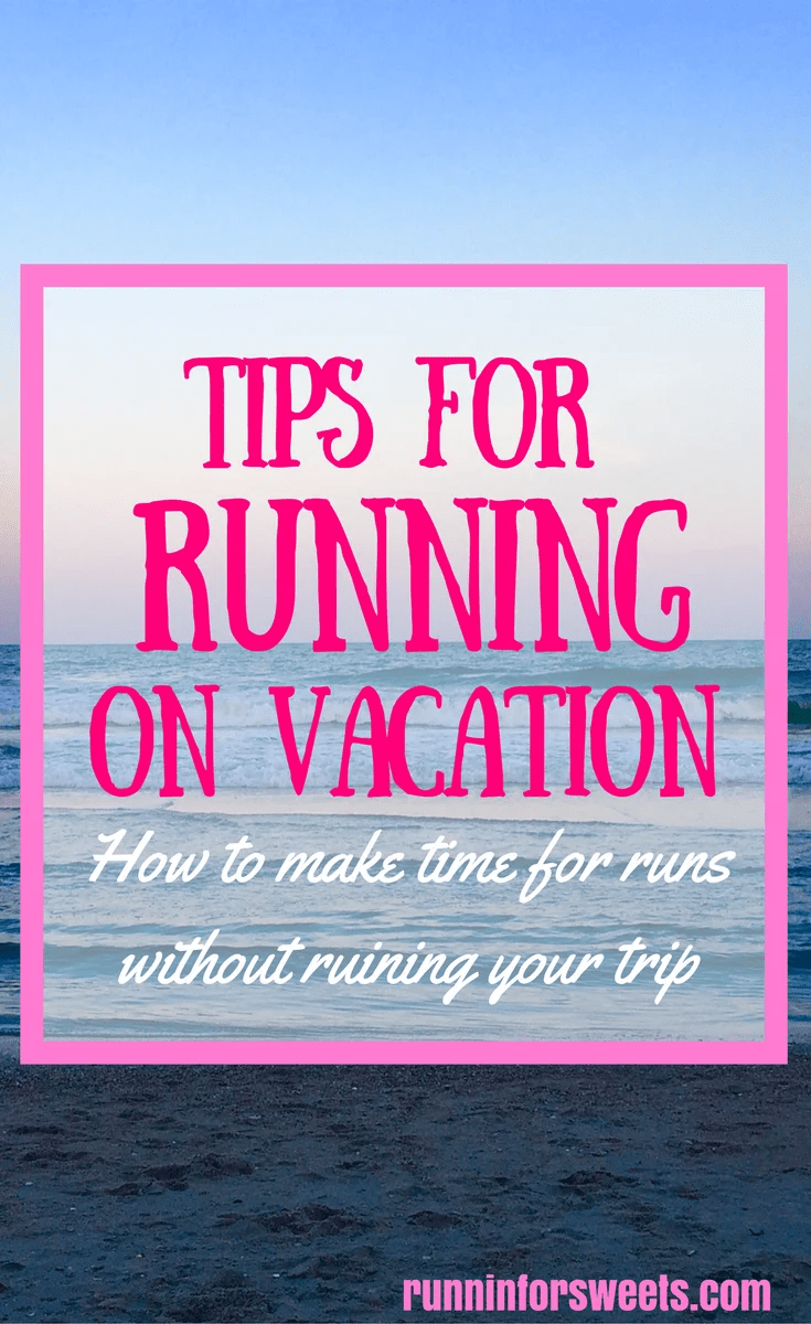 Most of us head out for vacation looking forward to time spent relaxing and indulging without guilt. When you're training for a race or just wanting to stay in shape though, sometimes training on vacation sounds appealing. Even if it doesn't, there are a few ways to continue running on vacation without taking away from sight seeing and relaxing. These must read training tips will help you continue running while traveling with ease! #runningonvacation #healthytravel #runningtips #trainingtips
