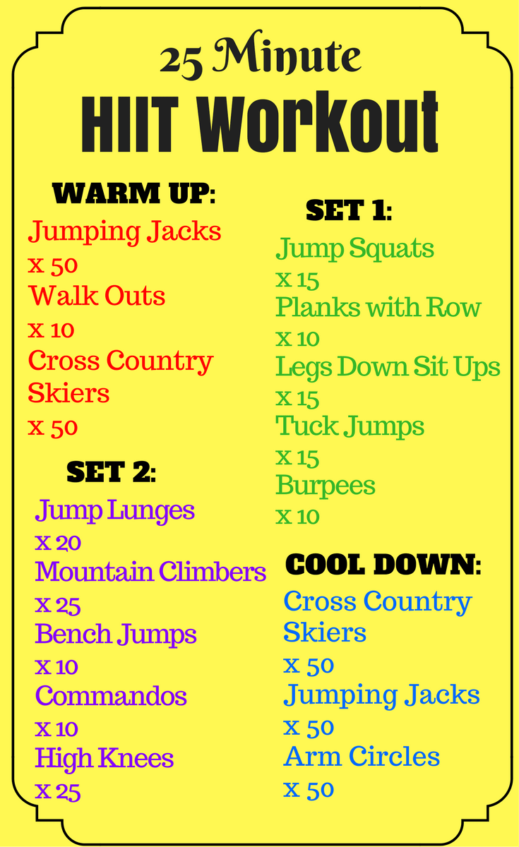 Runner's HIIT Workout