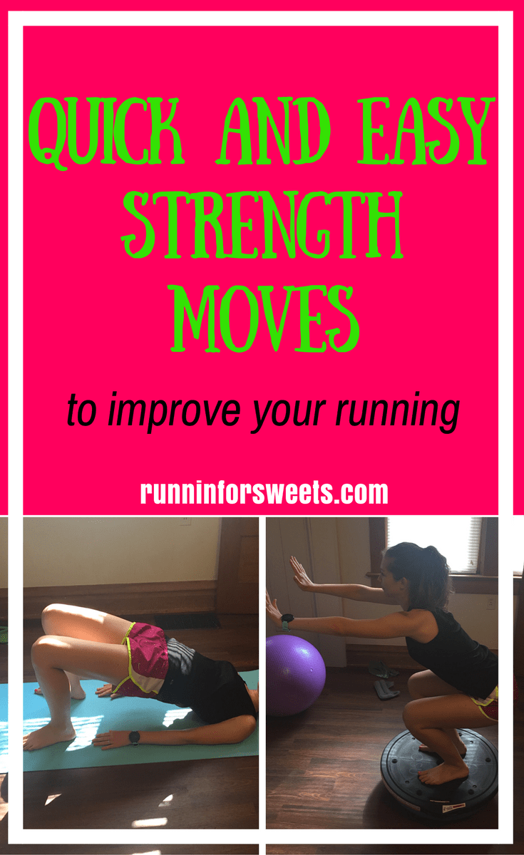 Quick and Easy Strength Moves to Improve Your Running