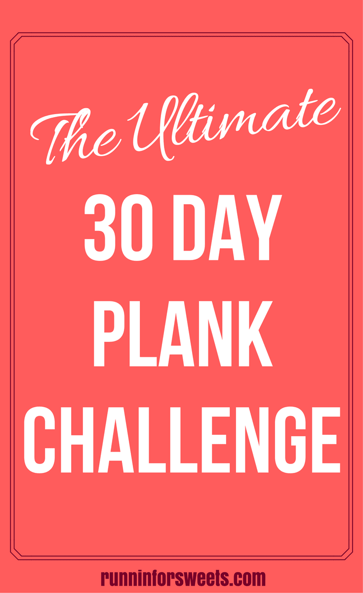 graphic relating to Printable 30 Day Plank Challenge known as The Best 30 Working day Plank Problem for Runners Runnin
