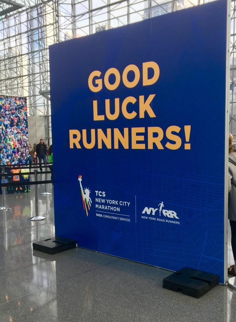NYC Marathon Expo