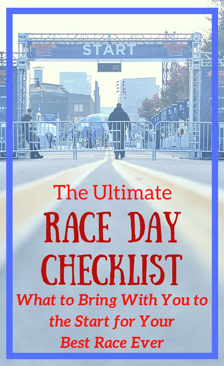 Packing List for Race Day
