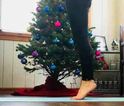 Christmas Workout Calf Raises