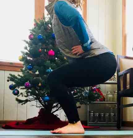 Christmas Workout Squats