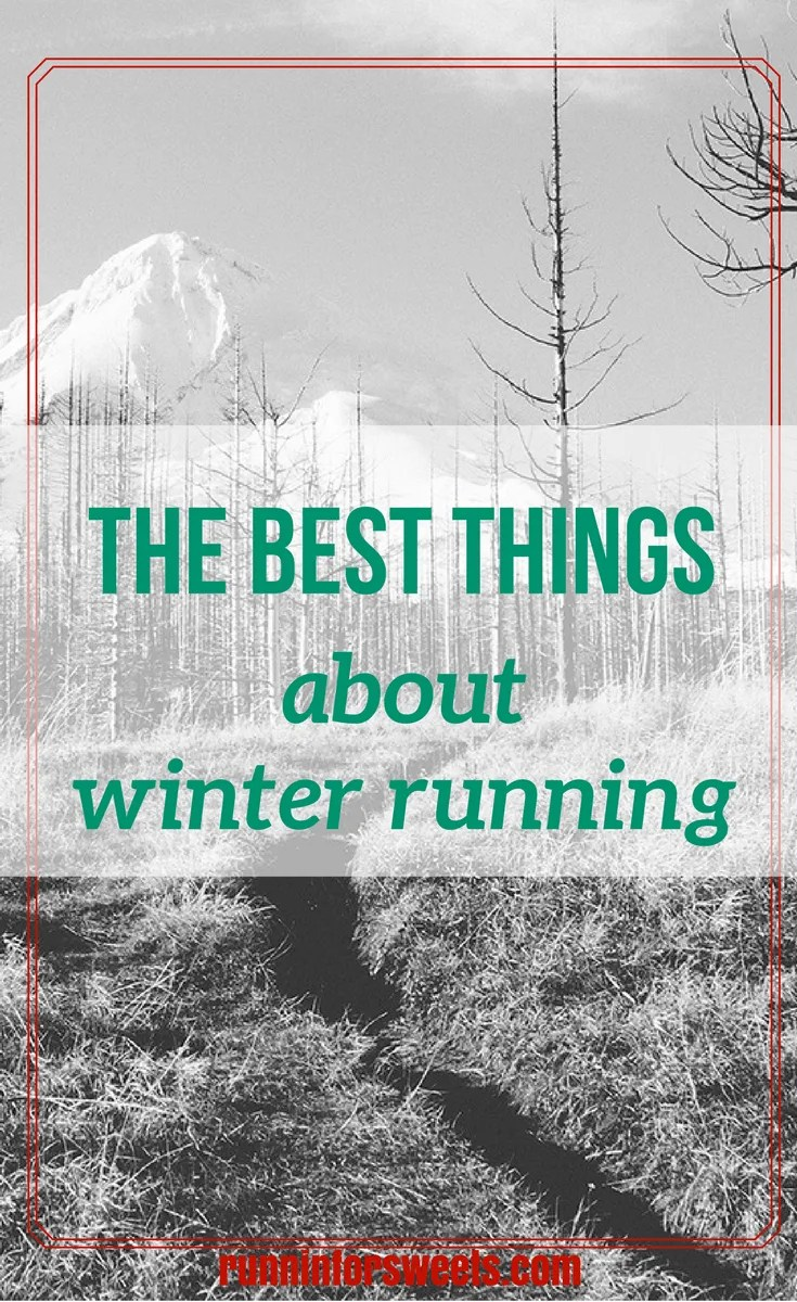 Best Things About Winter Running